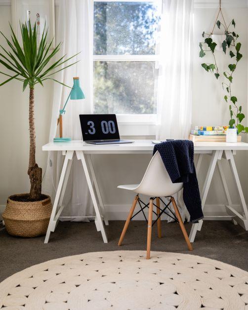 bureau kantoor inrichten thuis