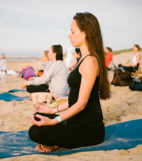 Dit was ELLE Yoga Sunset 2019
