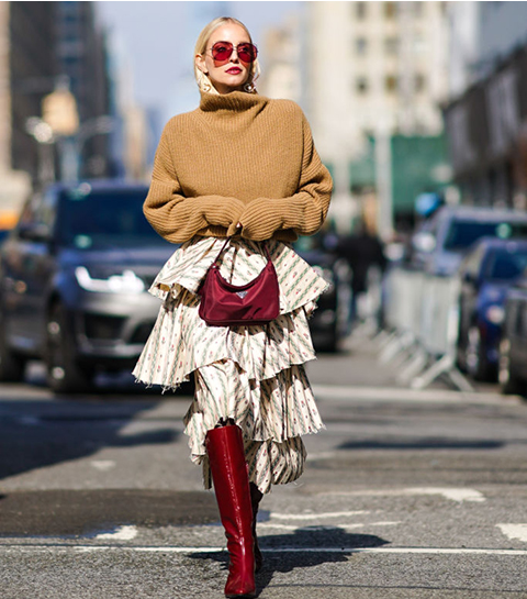De beste streetstyle looks van New York Fashion Week