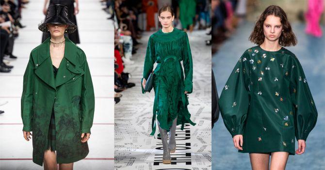 groen herfst kleuren trends