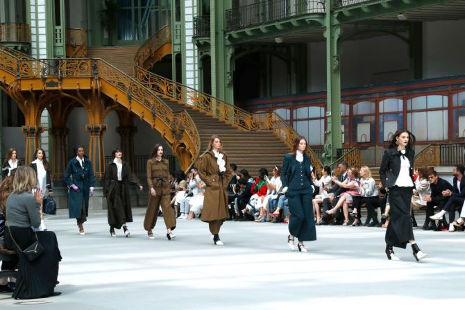 Chanel show Paris