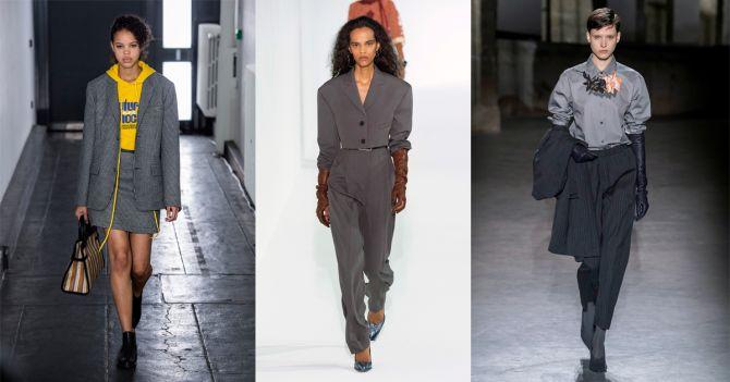 grijze kostuums herfst trends