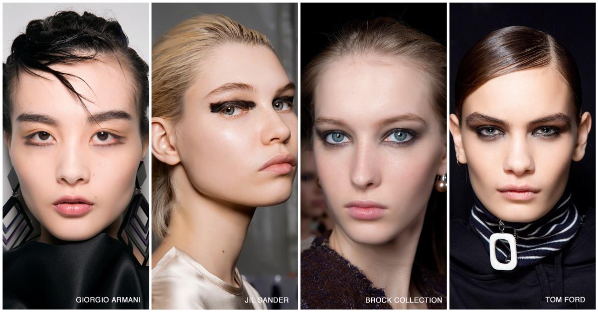 make-up trends 2019 2020 eyeliner zwart