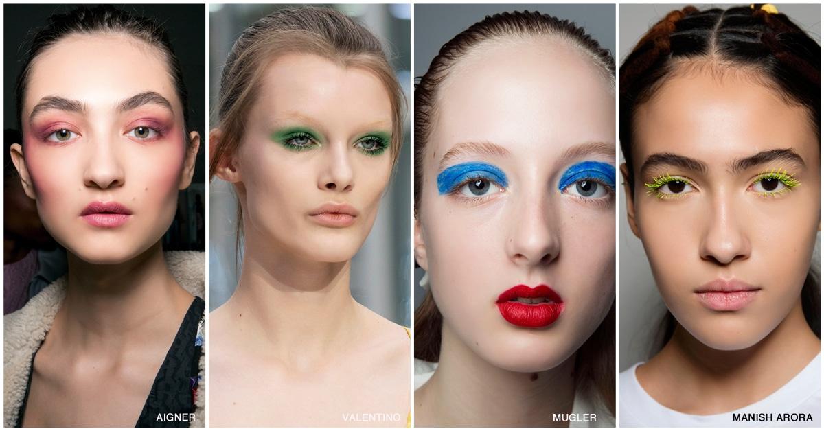 make-up trends kleur