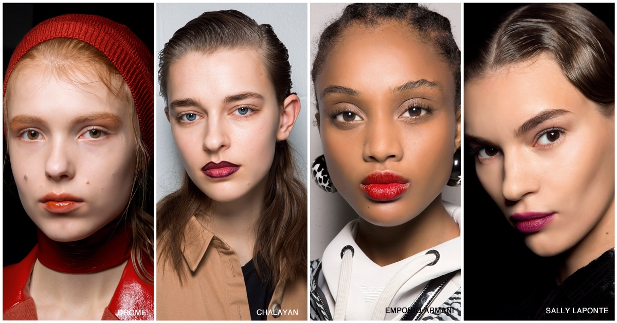 make up trends lippen lippenstift