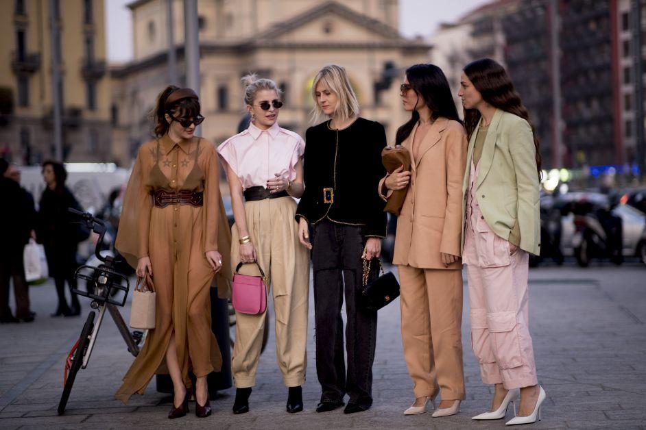 milaan, fashion week, modeweek