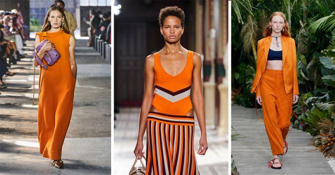 catwalk kleuren 2021 lente trends