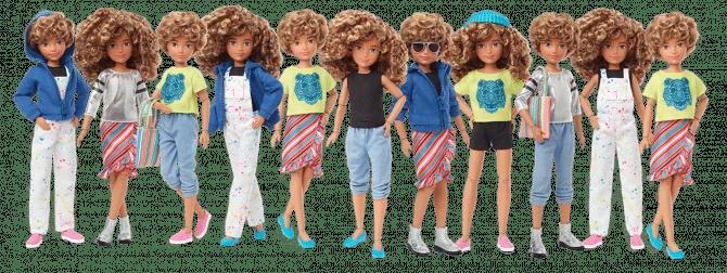 poppen mattel barbie
