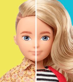 Mattel komt met genderinclusieve poppen