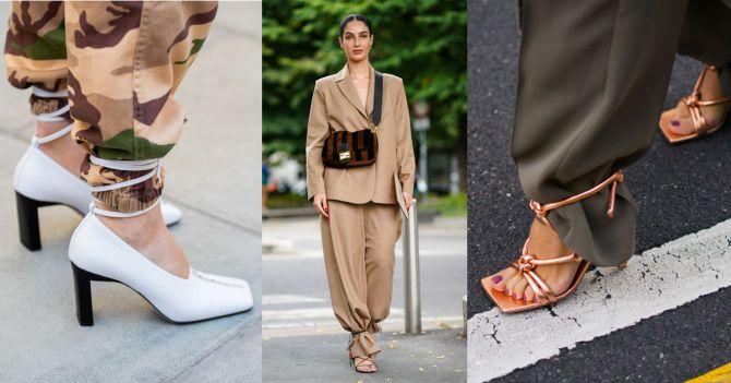 schoenen touwtjes sandalen