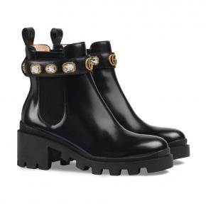 gucci combat boots