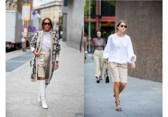 shorts trend beige