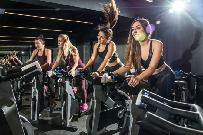 spinning workout sport voeding