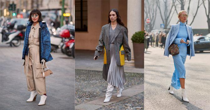 witte laarzen herfst trend schoenen