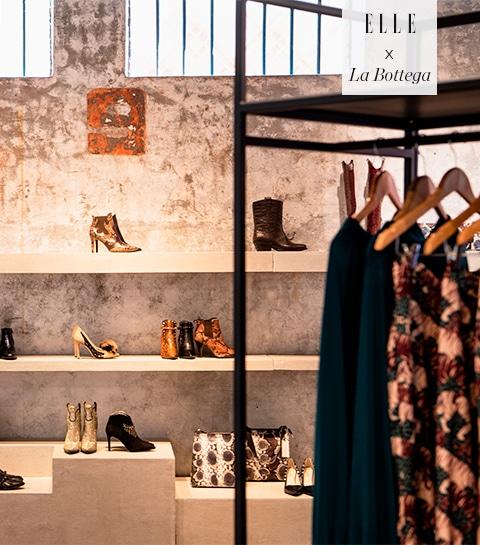 Schrijf je in voor de ELLE x La Bottega shopping night