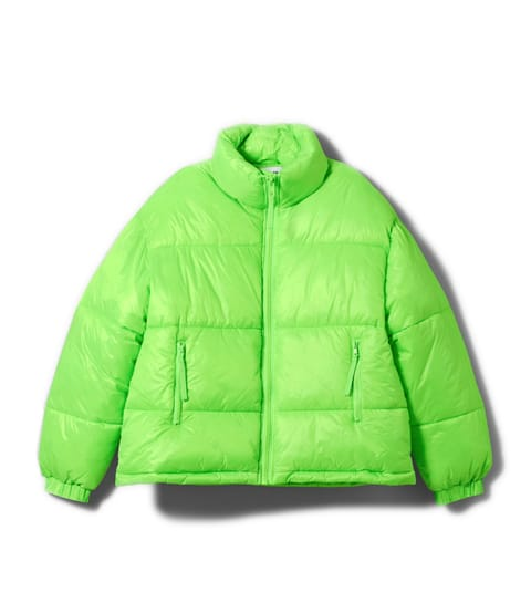 neon jas winter jacket fluo