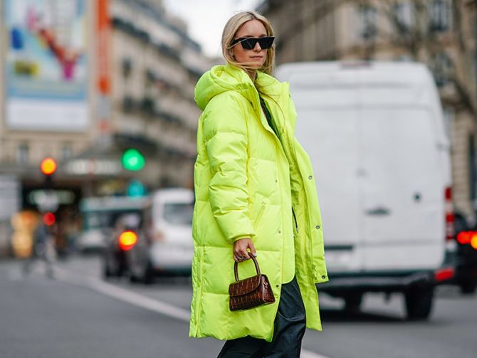 neon winterjas