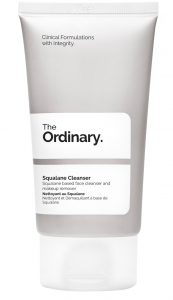 the ordinary squalane cleanser huidverzorging droge huid
