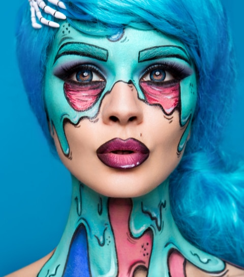 Deze 5 Instagram-accounts geven je alle Halloween make-up inspiratie