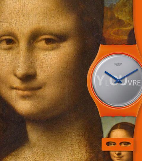 Swatch x Louvre: hoe eeuwenoude kunst plots heel punctueel wordt