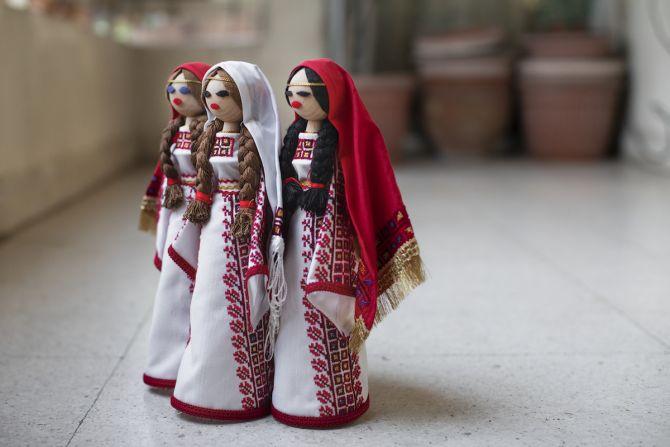 Textiel in Verzet, expo, Palestina