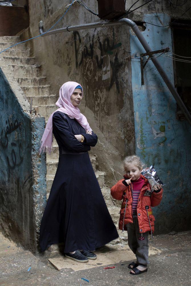 Textiel in Verzet, expo, Kortrijk, Libanon
