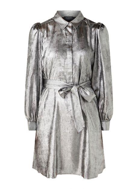 zilveren jurk feest
