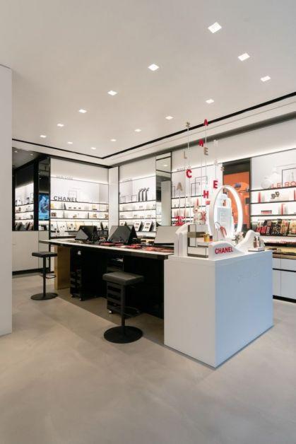 Chanel beauty boetiek Antwerpen