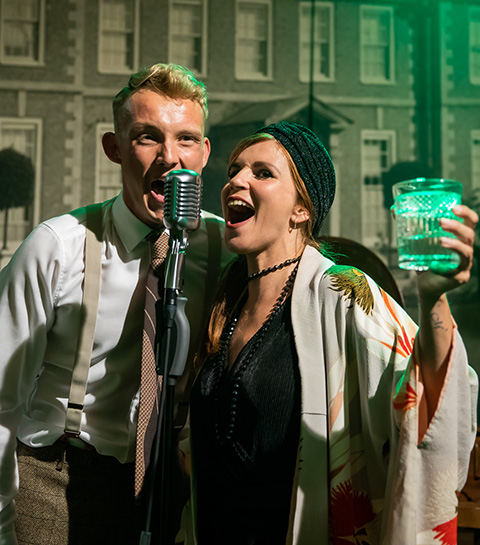 AGENDA: The Great Gatsby immersive theater show