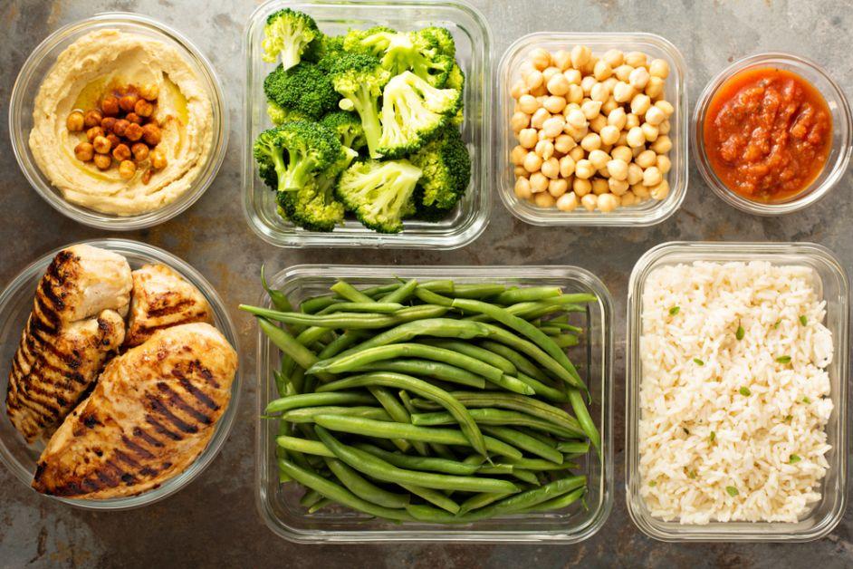meal prepping, stress, ochtendroutine, gezond eten, snel klaar, recept