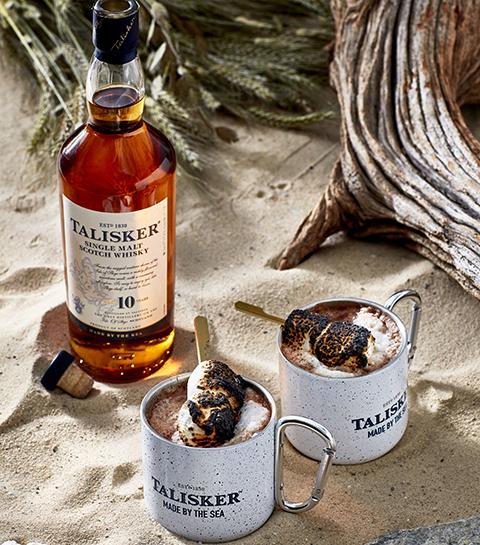 Recept: boozy chocolademelk met whisky