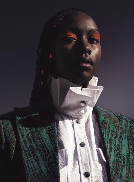 Thebe Magugu, ontwerper, Zuid-Afrika, LVMH Prize, Karl Lagerfeld