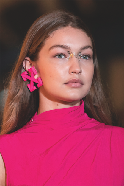 beautytrends 2020 off white gigi hadid