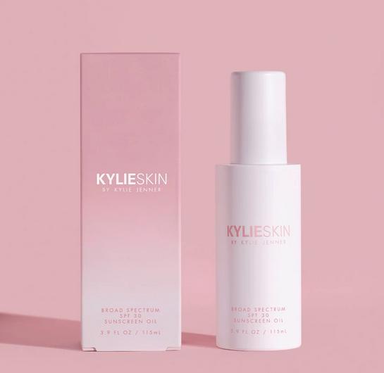 celebs_beauty_kylie_skin_sunscreen_oil