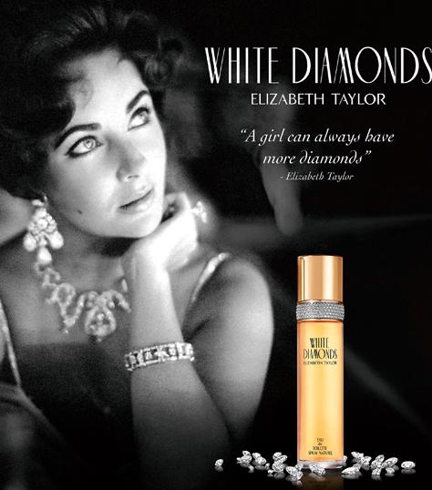 elizabeth taylor white diamonds parfum