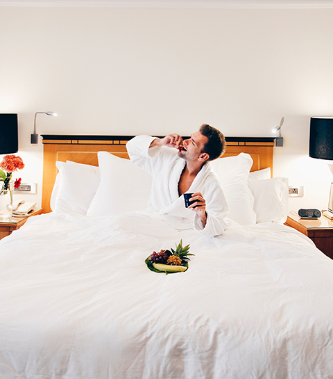 5 romantische hotels dicht bij huis voor een stomende Valentijnsnacht