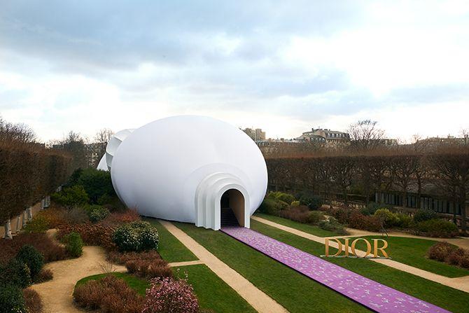 Dior haute couture modeshow 2020 collectie