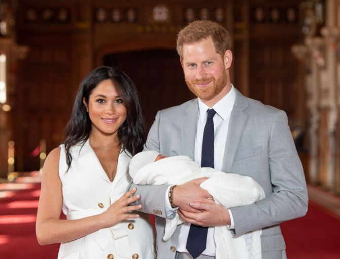 meghan harry baby archie