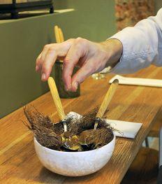 Ontdek zero waste op gastronomisch niveau bij San in Gent