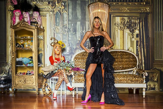 Anna Dello Russo interieur westwing