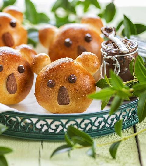 Recept: Magic White koalabroodjes met huisgemaakte amandelpasta