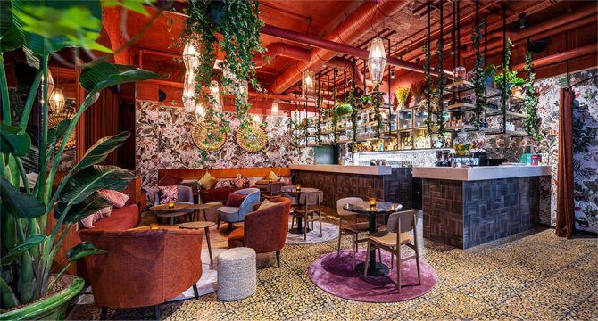 serra hotelbar restaurant Brussel
