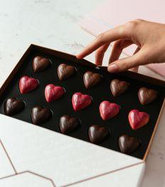 Sweets for my sweet: stijlvolle valentijnschocolaatjes om te geven of te krijgen
