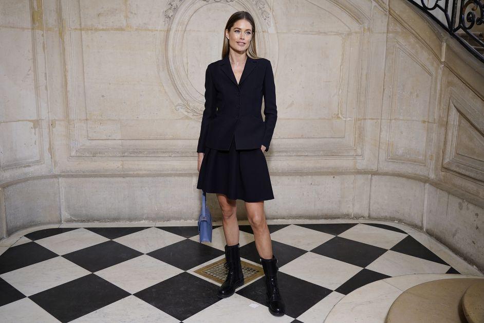 Doutzen Kroes, Dior, Haute Couture, Bar jacket
