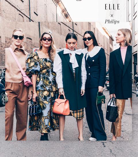 Bye bye kreuken. Hallo Milaan Fashion Week!