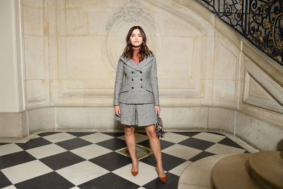 Jenna Coleman, Dior, Haute Couture, Bar jacket