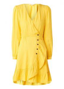 jurk maje geel trendkleur 2020