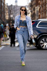 mode, streetstyle, cirkel jeans, nyfw