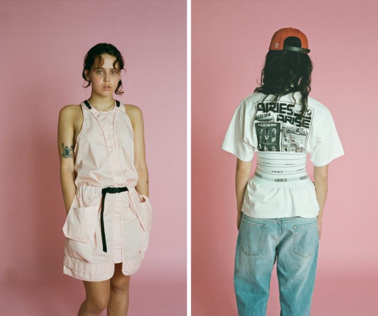 lookbook, Aries, streetwear, Sofia Prantera, Londen