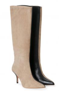 two tone laarzen gestuz trend fashion